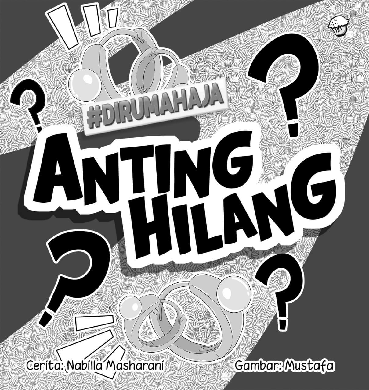 Anting Hilang Cover BW