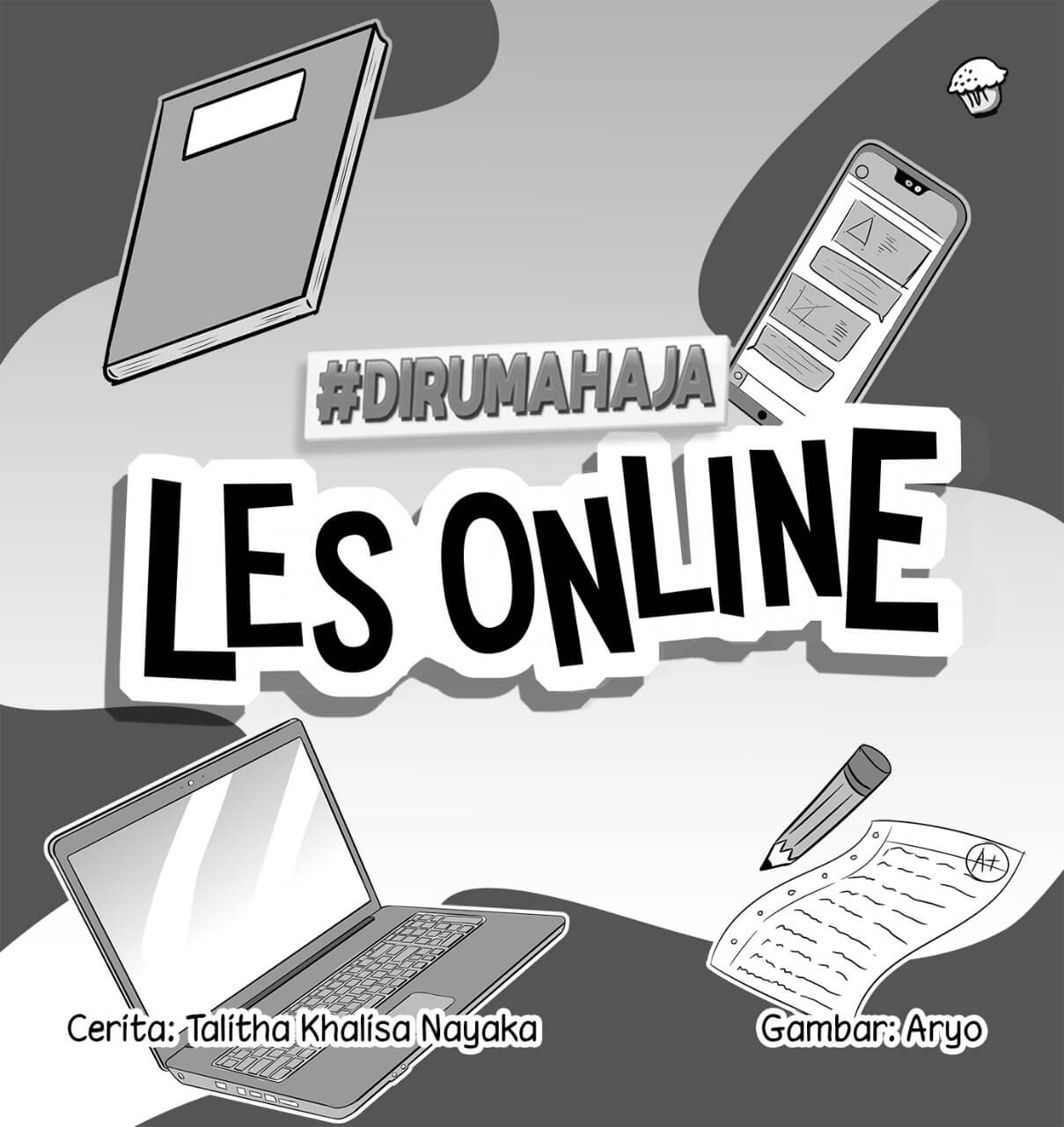 Les Online Cover bw