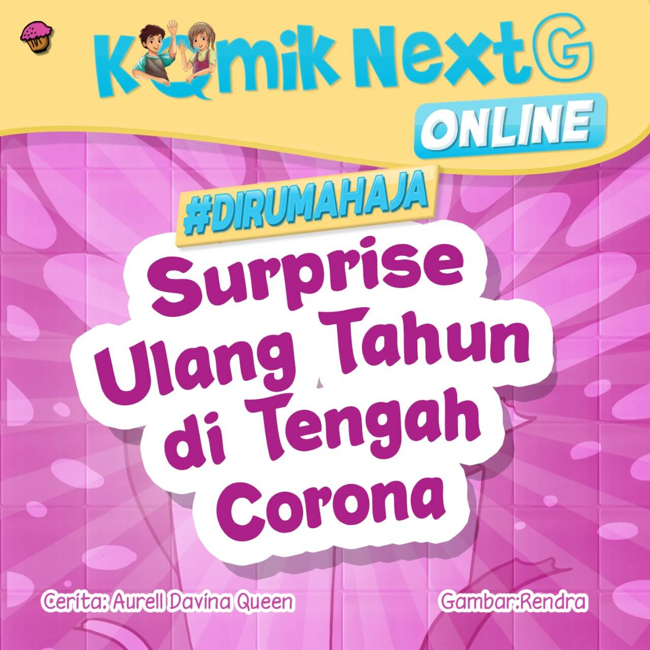Surprise Ulang Tahun di Tengah Corona Cover
