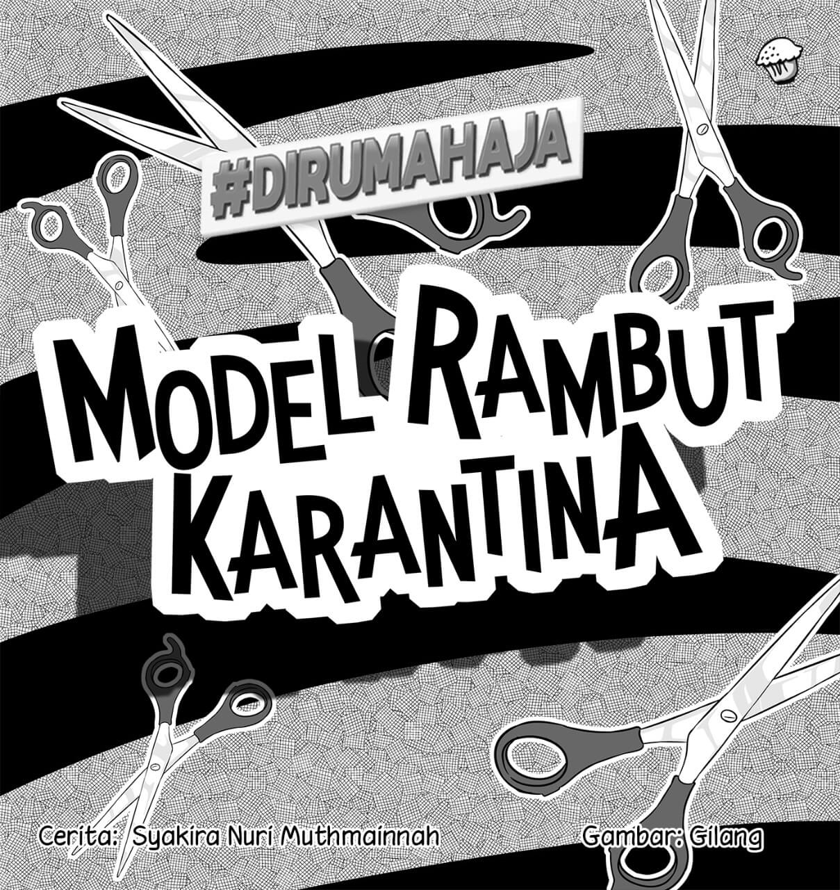 Model Rambut Karantina Cover BW