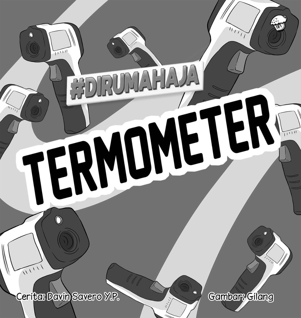 Termometer Cover BW