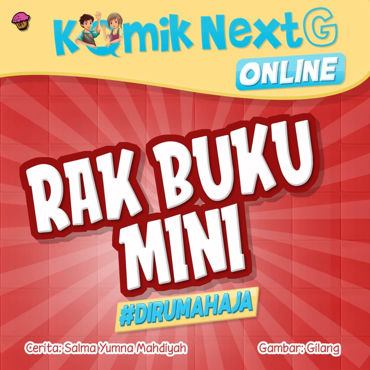 Rak Buku Mini Cover