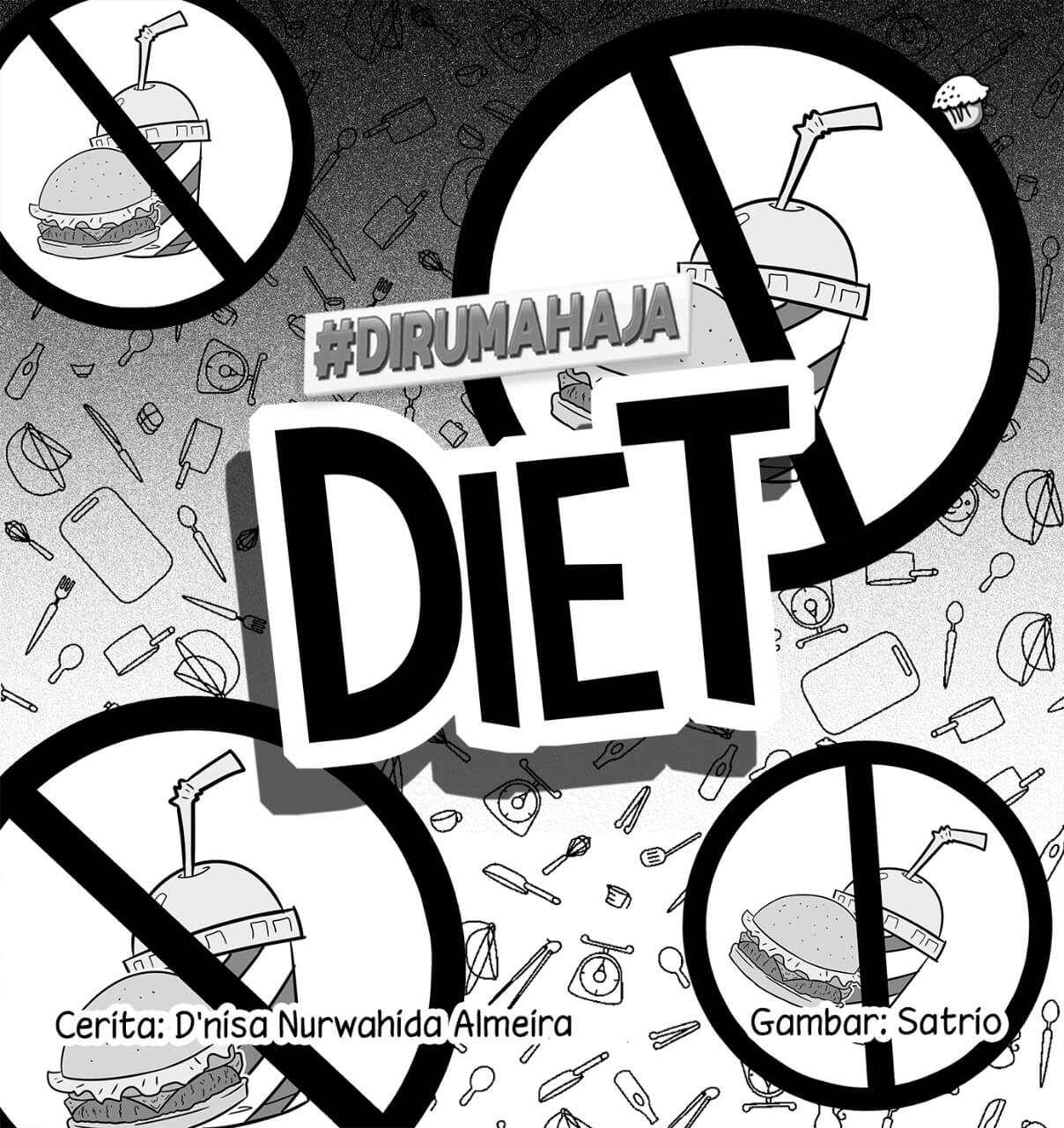 Diet Cover BW