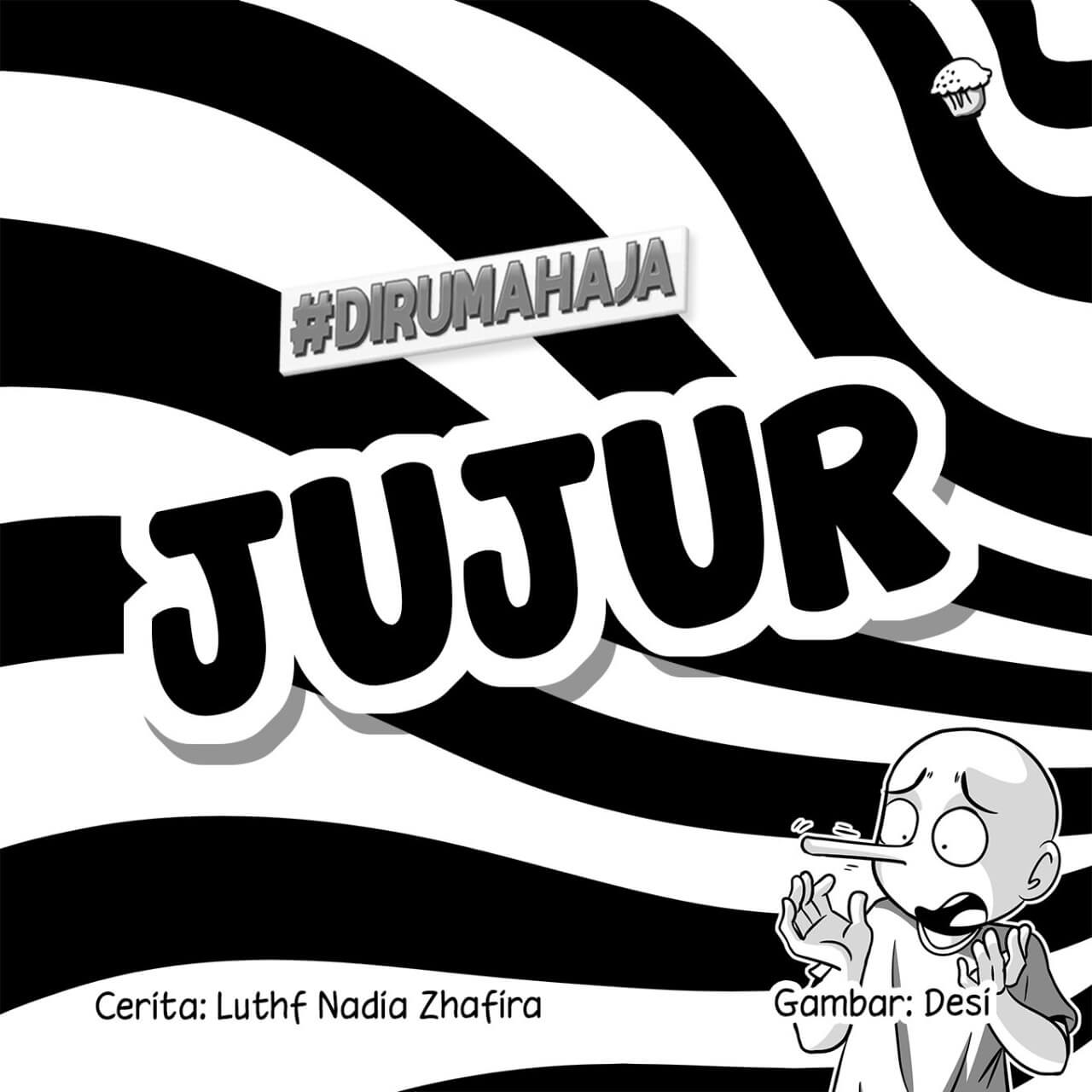 Jujur Cover BW