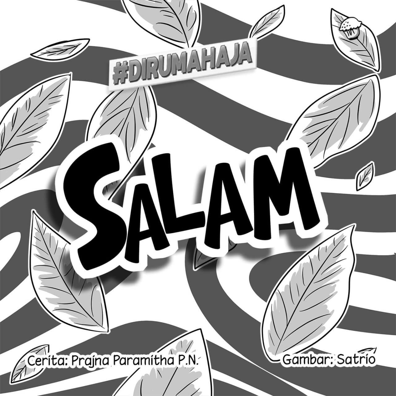 Salam cover BW