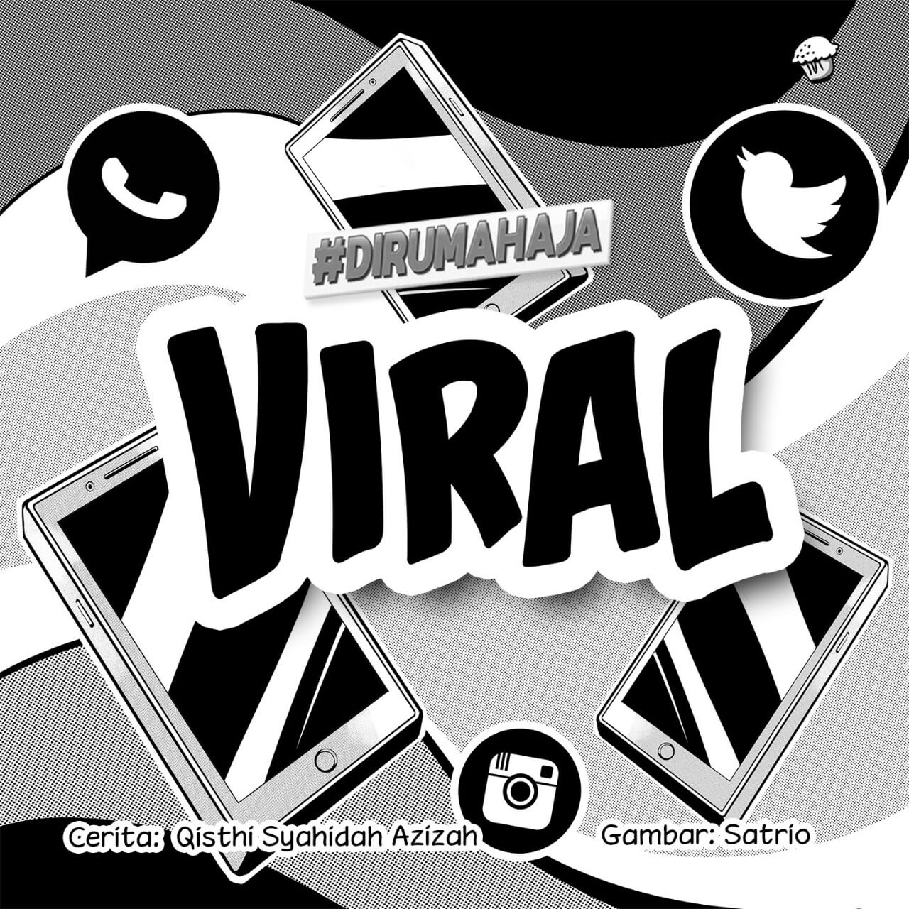 Viral Cover BW